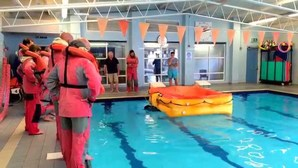 RYA Sea Survival course in Jersey