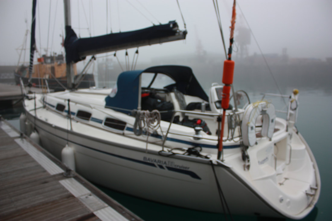 RYA Yachtmaster Preparation aboard a Bavaria 33C yacht in Jersey