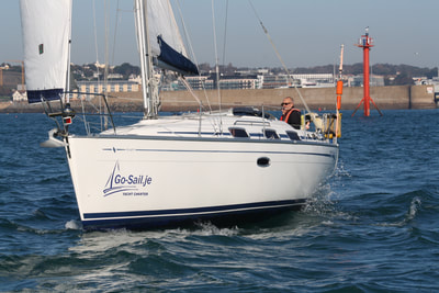 Bavaria sailing yacht in Jersey