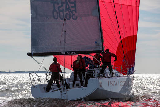 SunFast 3600 - Solis Ortus - Yacht racing in Jersey